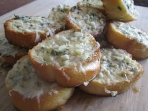 Garlic Bread, Garlic butter
